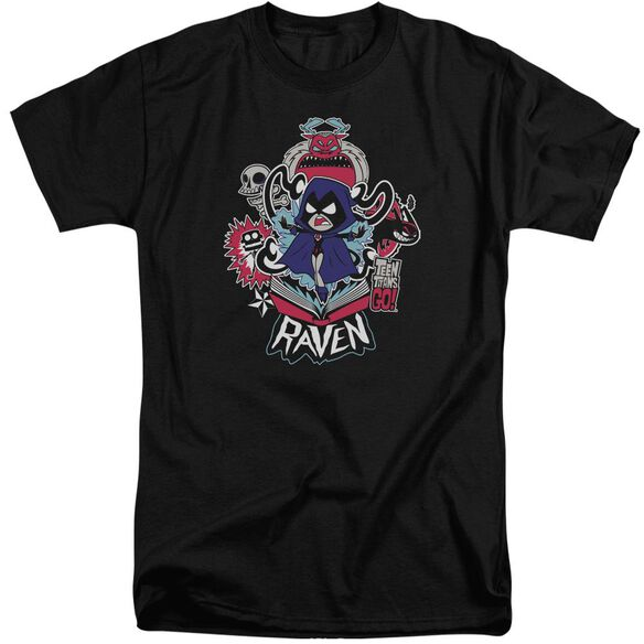 Teen Titans Go Raven Short Sleeve Adult Tall T-Shirt