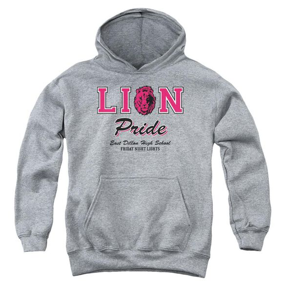 Friday Night Lights Lions Pride Youth Pull Over Hoodie Athletic