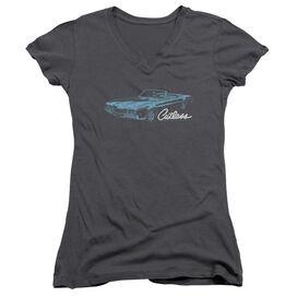 Oldsmobile 68 Cutlass Junior V Neck T-Shirt