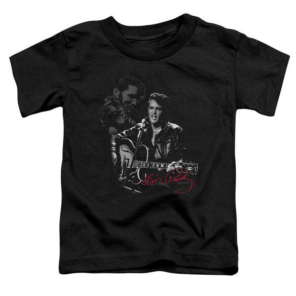 Elvis Show Stopper Short Sleeve Toddler Tee Black Md T-Shirt