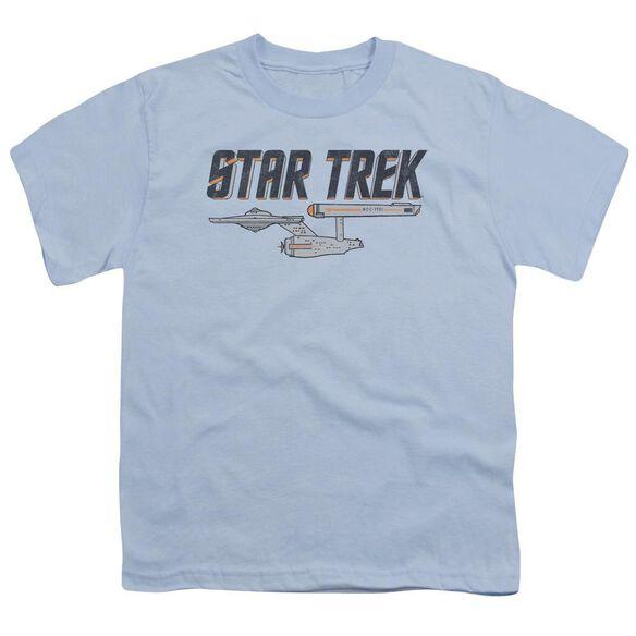 Star Trek Entreprise Logo Short Sleeve Youth Light T-Shirt