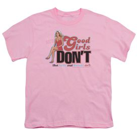 90210 Good Girls Dont Short Sleeve Youth T-Shirt