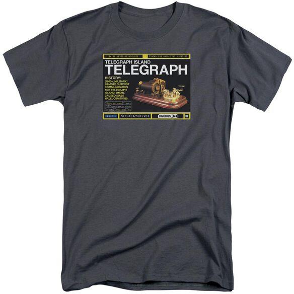 Warehouse 13 Telegraph Island Short Sleeve Adult Tall T-Shirt