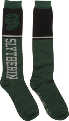 Harry Potter Slytherin Ladies Knee High Socks
