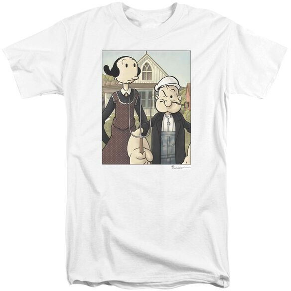 Popeye Popeye Gothic Short Sleeve Adult Tall T-Shirt