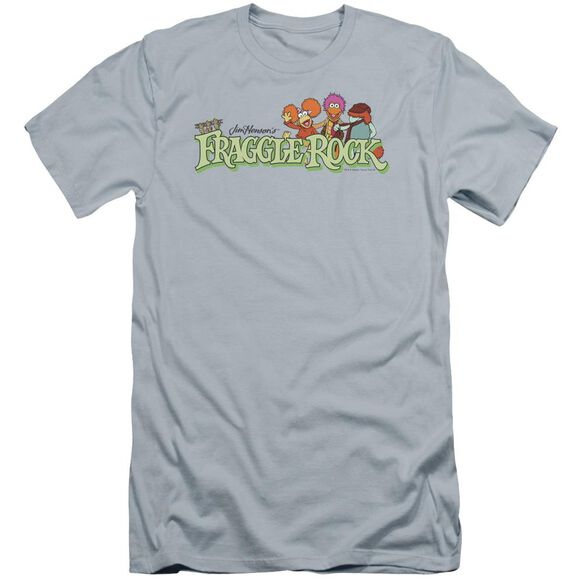 Fraggle Rock Leaf Logo Premuim Canvas Adult Slim Fit Light