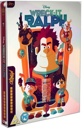 Wreck It Ralph [Limited Edition Blu-ray Mondo x Steelbook]