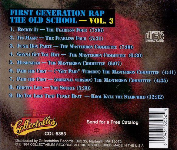 First Generationrapv31097