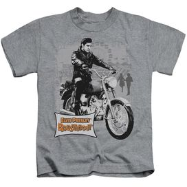 Elvis Roustabout Poster Short Sleeve Juvenile Athletic Heather T-Shirt