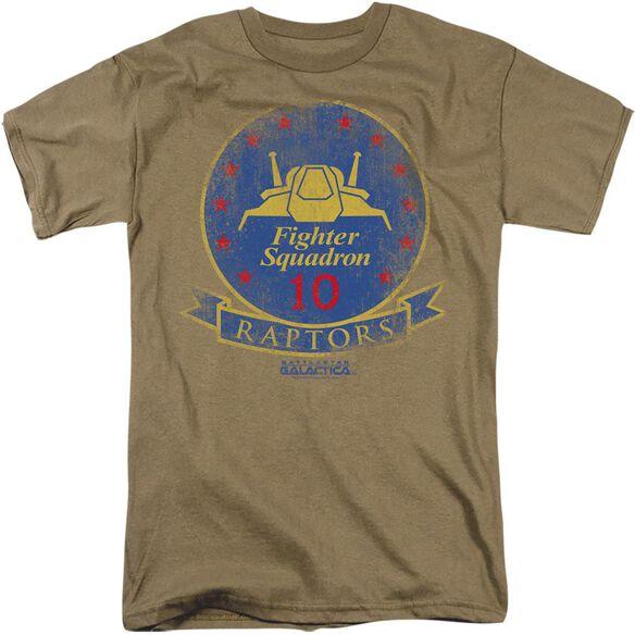 BSG RAPTOR BADGE - S/S ADULT 18/1 - T-Shirt
