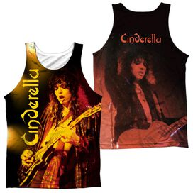 Cinderella Live Show (Front Back Print) Adult 100% Poly Tank Top