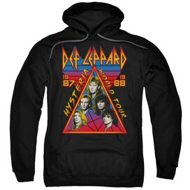 Def Leppard Hysteria Tour Adult Pull Over Hoodie