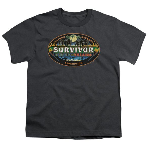 Survivor Heroes Vs Villains Short Sleeve Youth T-Shirt