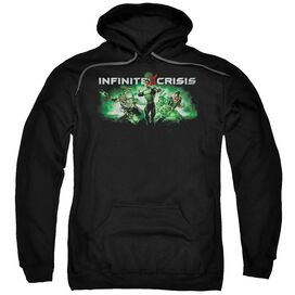 Infinite Crisis Ic Green Adult Pull Over Hoodie