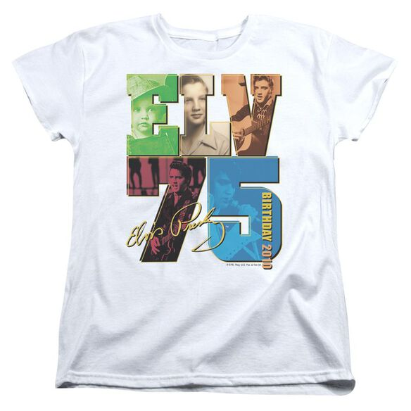 Elvis Birthday 2010 Short Sleeve Women's Tee T-Shirt
