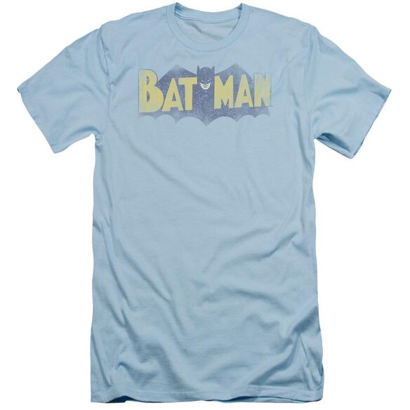 Batman Vintage Logo Short Sleeve Adult Light T-Shirt