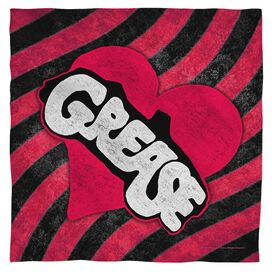 Grease Groove Bandana White