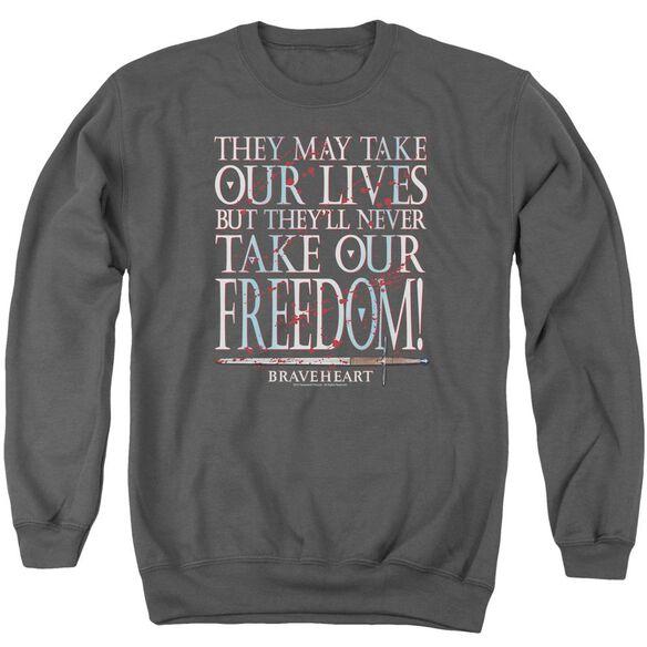 Braveheart Freedom Adult Crewneck Sweatshirt
