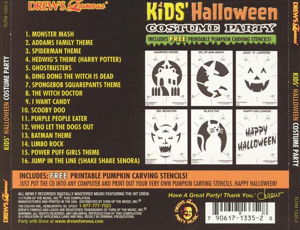Kids Halloween Costume Pa