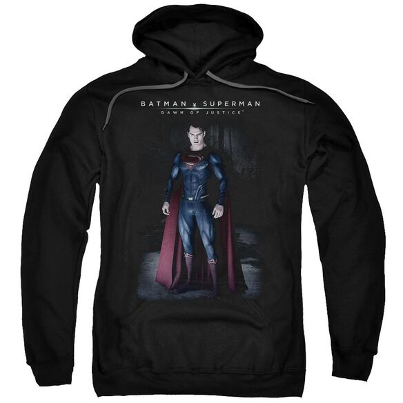 Batman V Superman Stand Tall Adult Pull Over Hoodie