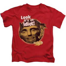 Mirrormask Riddle Me This Short Sleeve Juvenile Red T-Shirt