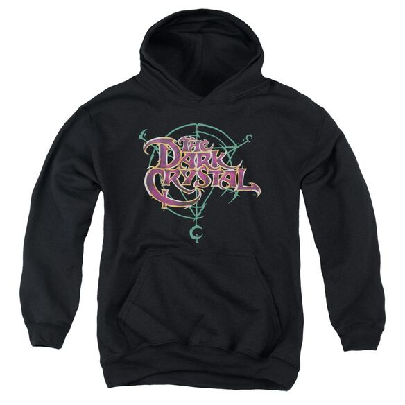 Dark Crystal Symbol Logo Youth Pull Over Hoodie