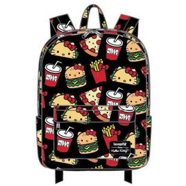 Loungefly Hello Kitty Snacks Nylon Backpack