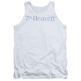 7th Heaven 7th Heaven Logo - Adult Tank - White