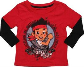 Jake and the Never Land Pirates Sword LS Toddler T-Shirt