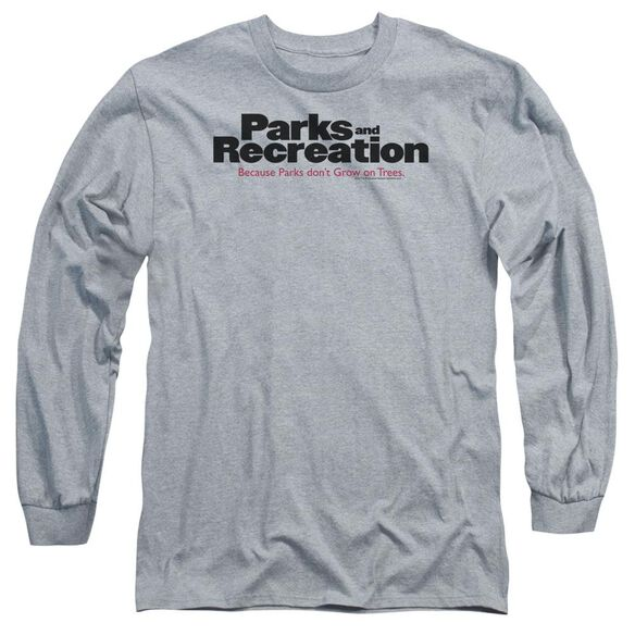 Parks And Rec Logo Long Sleeve Adult Athletic T-Shirt