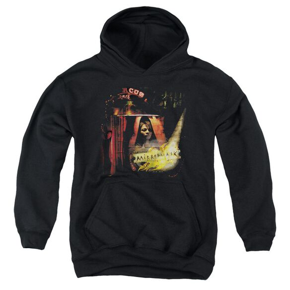 Mirrormask Big Top Poster Youth Pull Over Hoodie