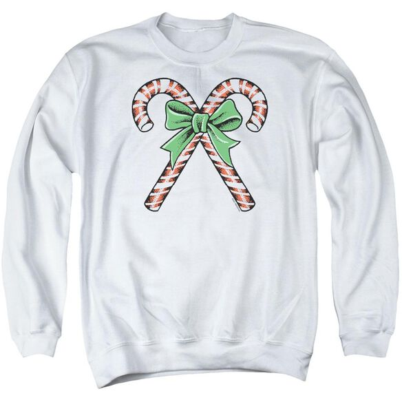 Candy Canes Adult Crewneck Sweatshirt