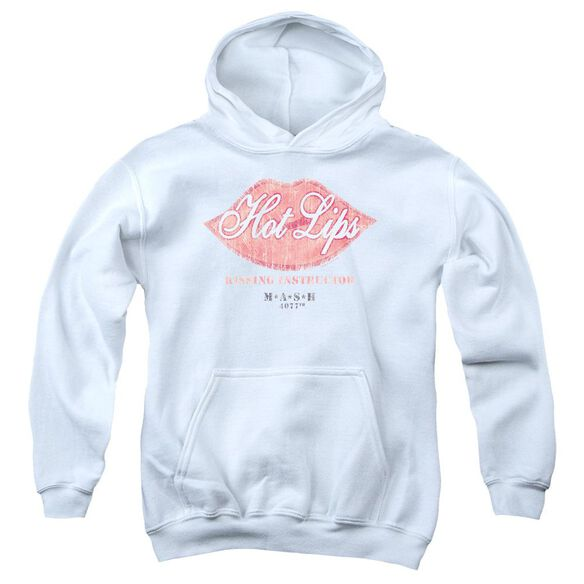 Mash Hot Lips Youth Pull Over Hoodie
