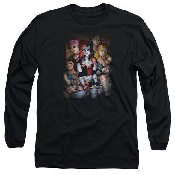 Batman Bad Girls Long Sleeve Adult T-Shirt