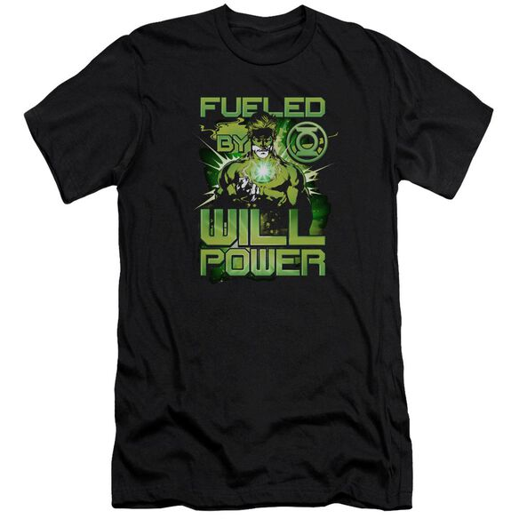 Green Lantern Fueled Premuim Canvas Adult Slim Fit