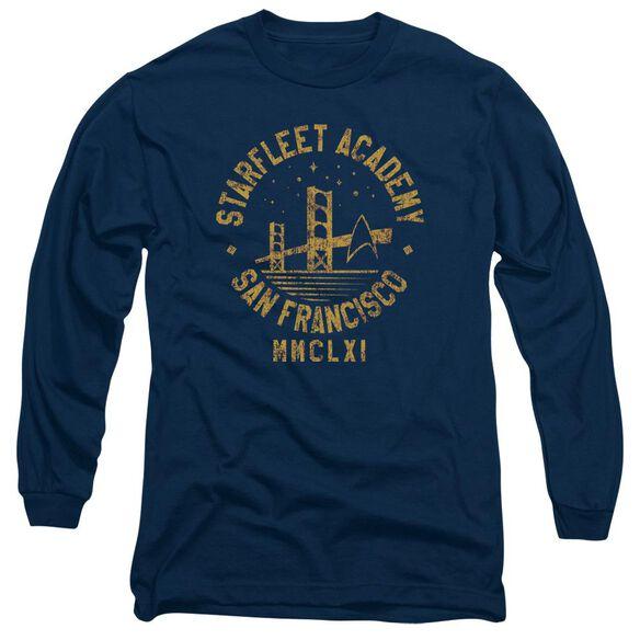 Star Trek Collegiate Bridge Long Sleeve Adult T-Shirt