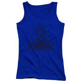 Snl Schwing Juniors Tank Top Royal