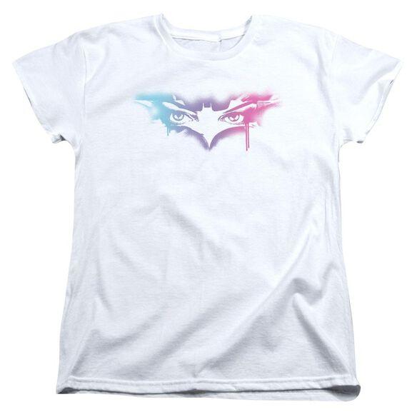 Dark Knight Rises Spray Cat Short Sleeve Womens Tee T-Shirt