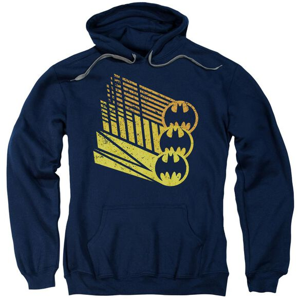 Batman Bat Signal Shapes Adult Pull Over Hoodie