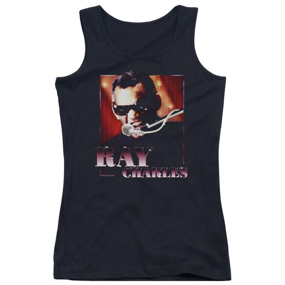 Ray Charles Sing It Juniors Tank Top