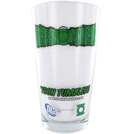 Green Lantern Run Glass