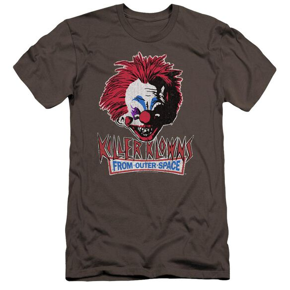 Killer Klowns From Outer Space Rough Clown Premuim Canvas Adult Slim Fit