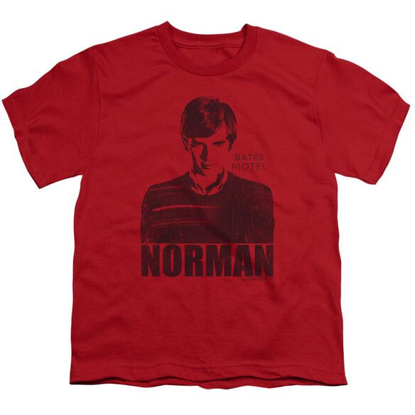 Bates Motel Norman Short Sleeve Youth T-Shirt