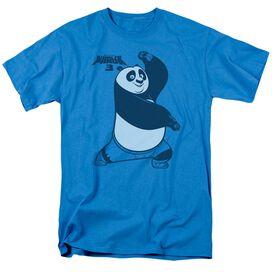 Kung Fu Panda Fighting Stance Short Sleeve Adult T-Shirt