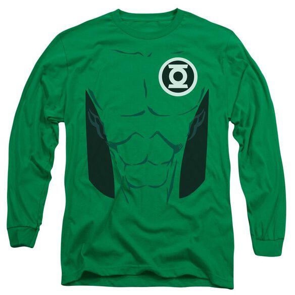 Lantern Kyle Rayner Long Sleeve Adult Kelly T-Shirt