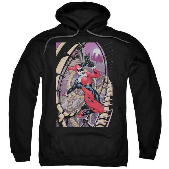 Batman Harley First Adult Pull Over Hoodie