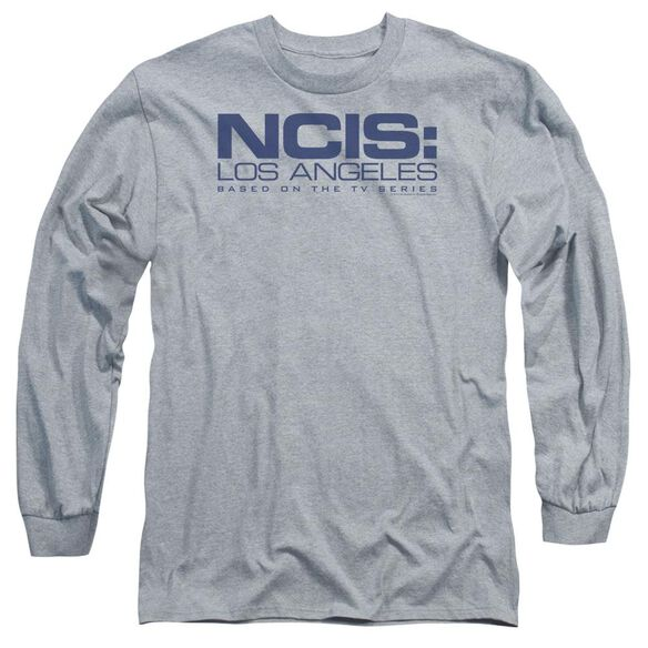 Ncis La Logo Long Sleeve Adult Athletic T-Shirt