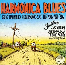 Various Artists - Harmonica Blues [Yazoo]
