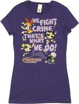 Powerpuff Girls We Fight Crime Baby Tee