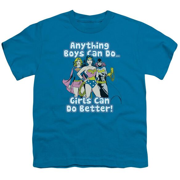 Dc Girls Can Do It Better Short Sleeve Youth T-Shirt
